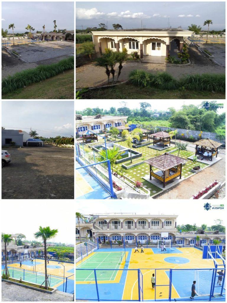 Gedung, Gazebo & Lapangan